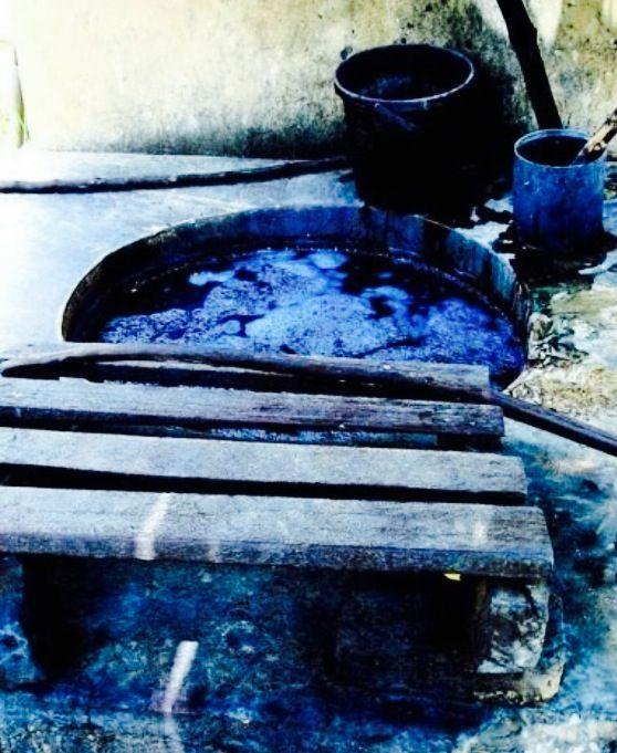 Indigo water