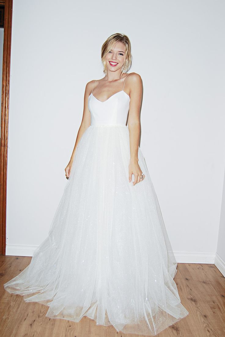 Cute wedding reception dresses for the bride   best Weddings images on Pinterest  Weddings Gown wedding and
