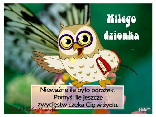 Miłego dzionka:)