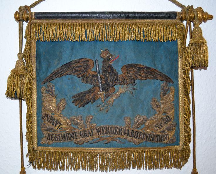 """Schellenbaumfahne IR 30 - Infanterie-Regiment """"Graf Werder"""" (4. Rheinisches) Nr. 30 – Wikipedia"""