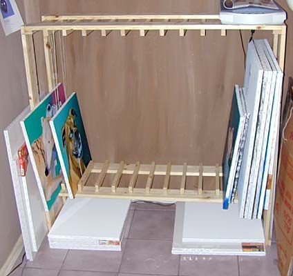 Build your own drying and storage rack - John Stamper