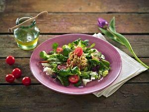 Mustáros kusz-kusz saláta