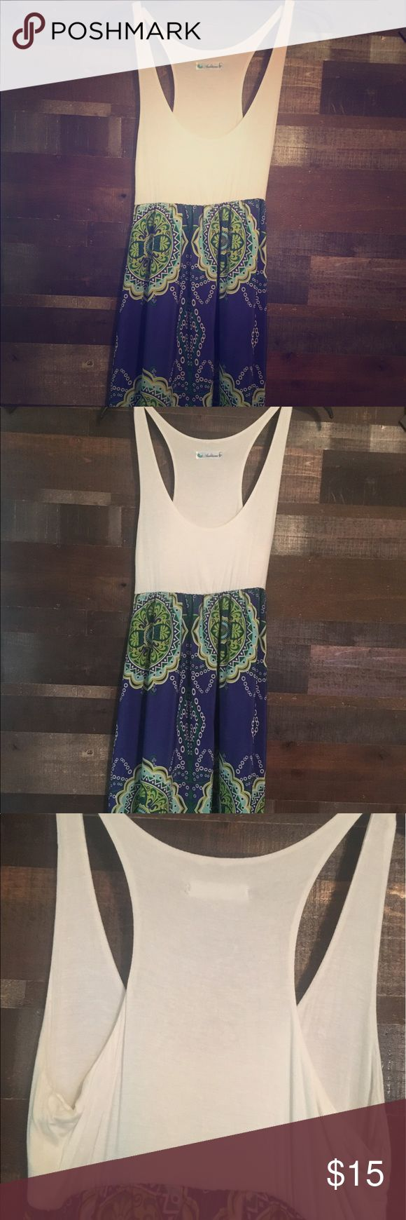 🌺 Aztec Summer Maxi Dress 👗 Flowing, gorgeous, multi-colored Maxi. Excellent Condition!  Oh-la-la! The colors in this maxi are soooo relaxing, just like the comfy fit! The soft top is solid and gives way to an AHHHmazing printed skirt that feels so cool against your skin! Definitely a nice break from any uncomfortable clothes! We think this is a great look for just about any occasion, so don't miss out on this wonderful number! True to Size! Auditions Dresses Maxi