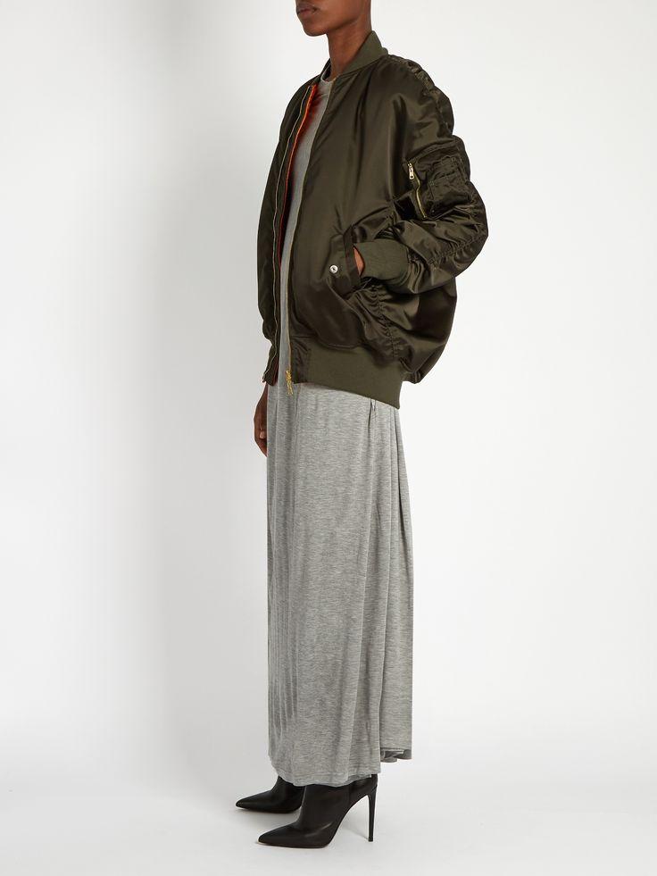 Click here to buy Balenciaga Round-neck jersey maxi dress at MATCHESFASHION.COM