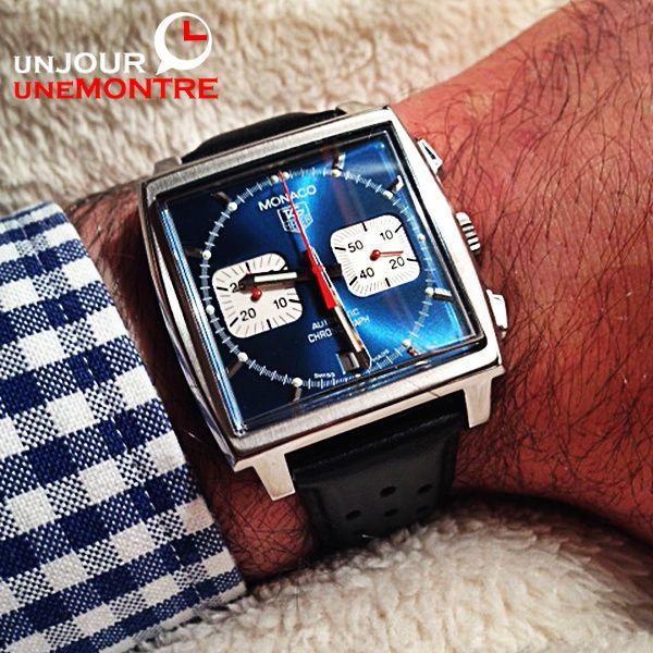 Lundi: TAG Heuer Monaco McQueen CW2113