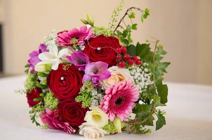 Bouquet mono - Rose Red Naomi Large (20 unités) dxFyC0Ijh