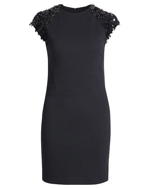 MICHAEL Michael Kors Kleid mit Pailletten-Dekor - schwarz jetzt bei Nix kaufen / kleidoo.de  #michaelkors #dress #kleid #black #pailletten