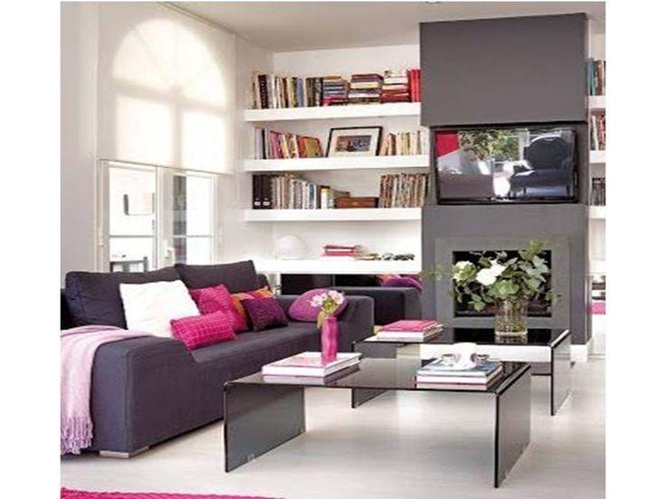 Como decorar sala pequena com pouco dinheiro en salas for Ideas para decorar la sala