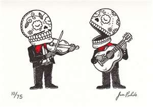 I can hear the music :)Mariachi Calavera, Jose Pulido, José Pulido, Tattoo Inspiration, Calavera Mariachi, Mariachi Tattoo, Of The, Dead, Day