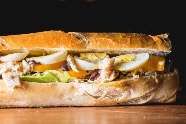 Tuna Nicoise Sandwich | Food | Pinterest