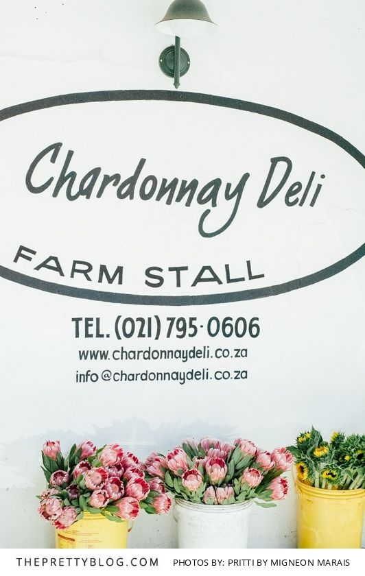 The Chardonnay Deli in Contantia is definitely worth a visit! Photography: Pritti by Migneon Marais