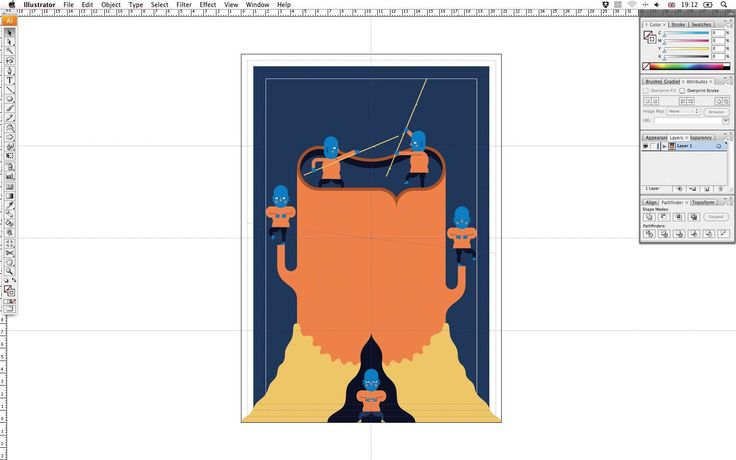 how to auto bring forward illustrator