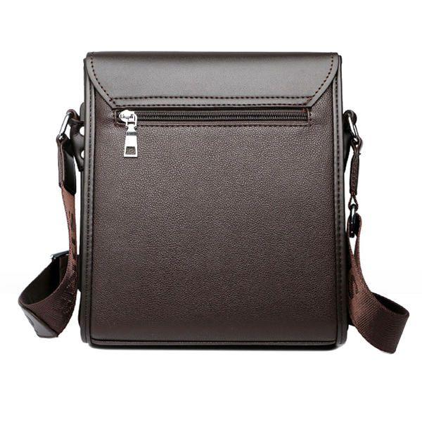 Men Business Shoulder Bag Casual Messenger Bag Crossbody Bag - US$37.89