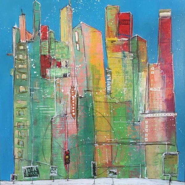 Royce Myers Art Limited - Susan Hanson, Bright, beautiful contemporary art