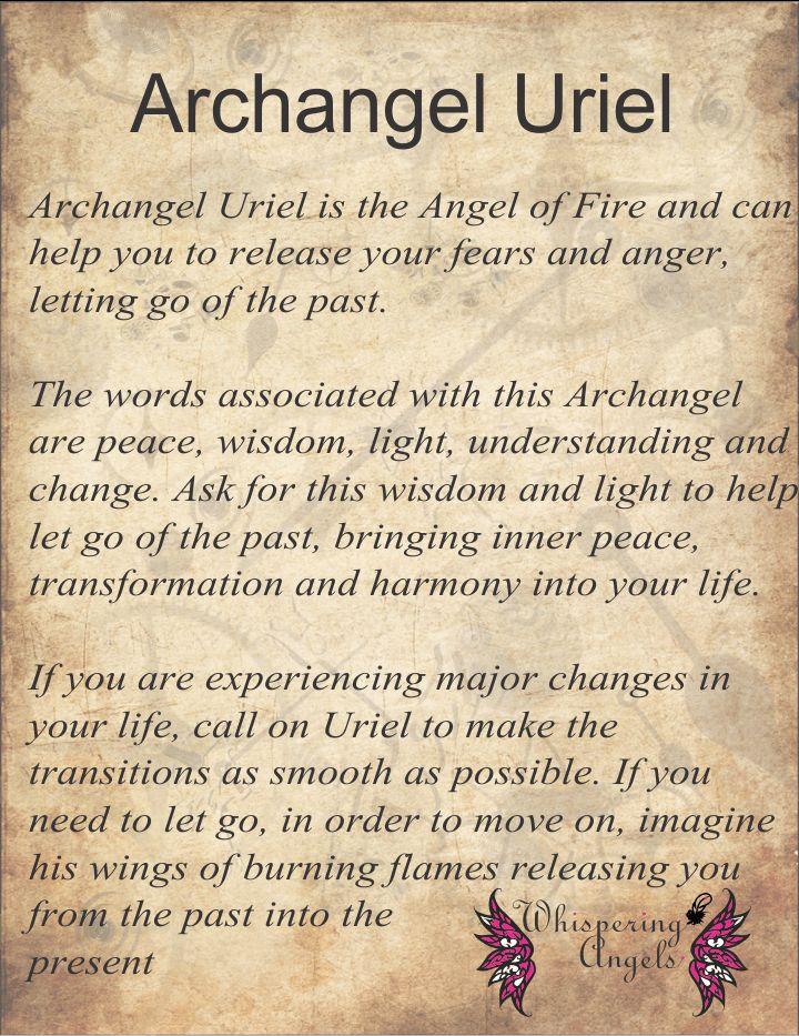 Archangel Uriel http://www.whisperingangels.co.za