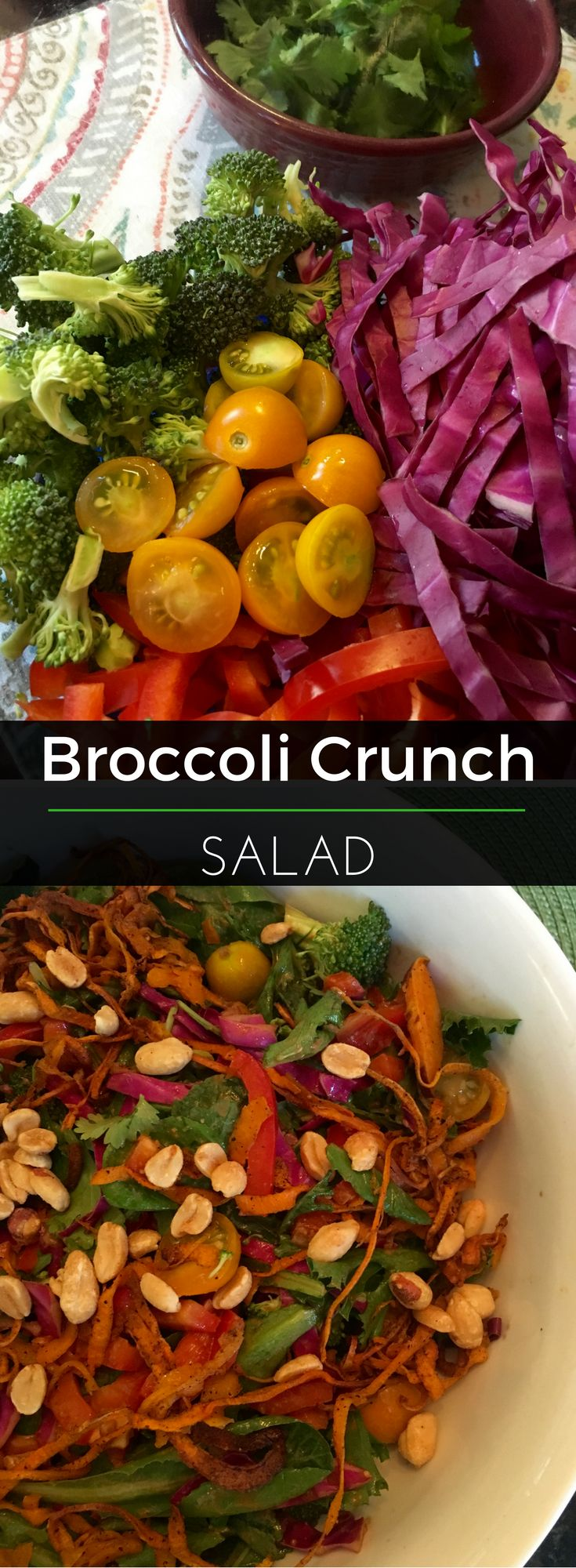 Brighten up your lunch plate with this Broccoli Crunch Salad! So delicious and nutritious. | Clearly Organic Nutritionist Corner