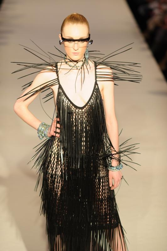 The Isabella Blow with jewellery, Brighton Fashion Week 2012