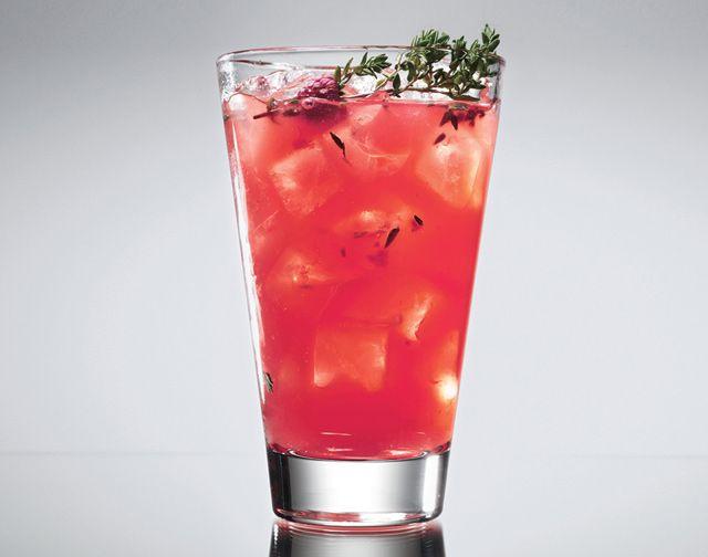 Raspberry-Thyme Smash - Bon Appétit