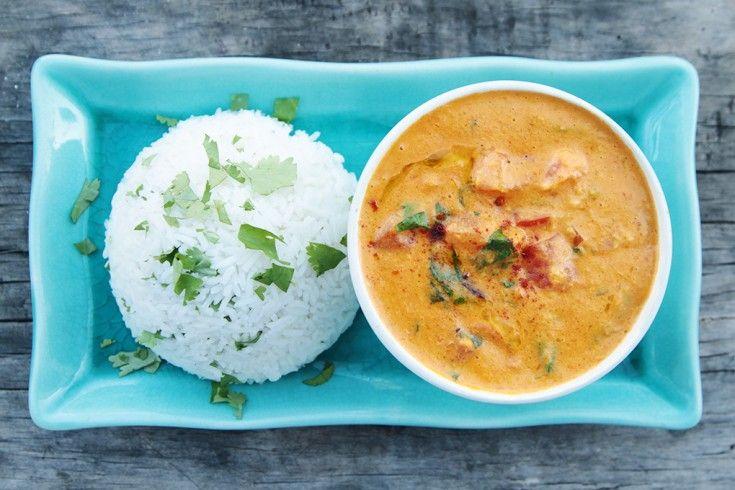 Vegan curry met geroosterde paprika & kikkererwten - Culy.nl