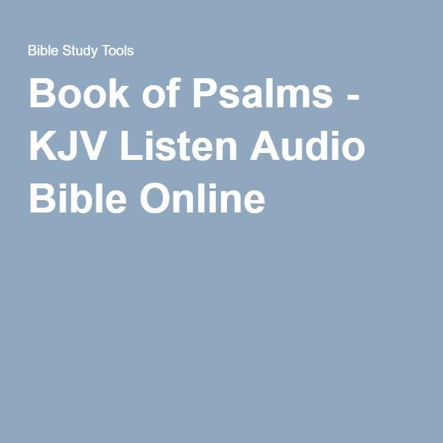 Book of Psalms - KJV Listen Audio Bible Online (PSALMS 103)
