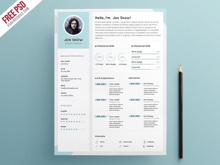 Pinterestu0027teki 25u0027den fazla en iyi Resume format free download fikri - attractive resume templates