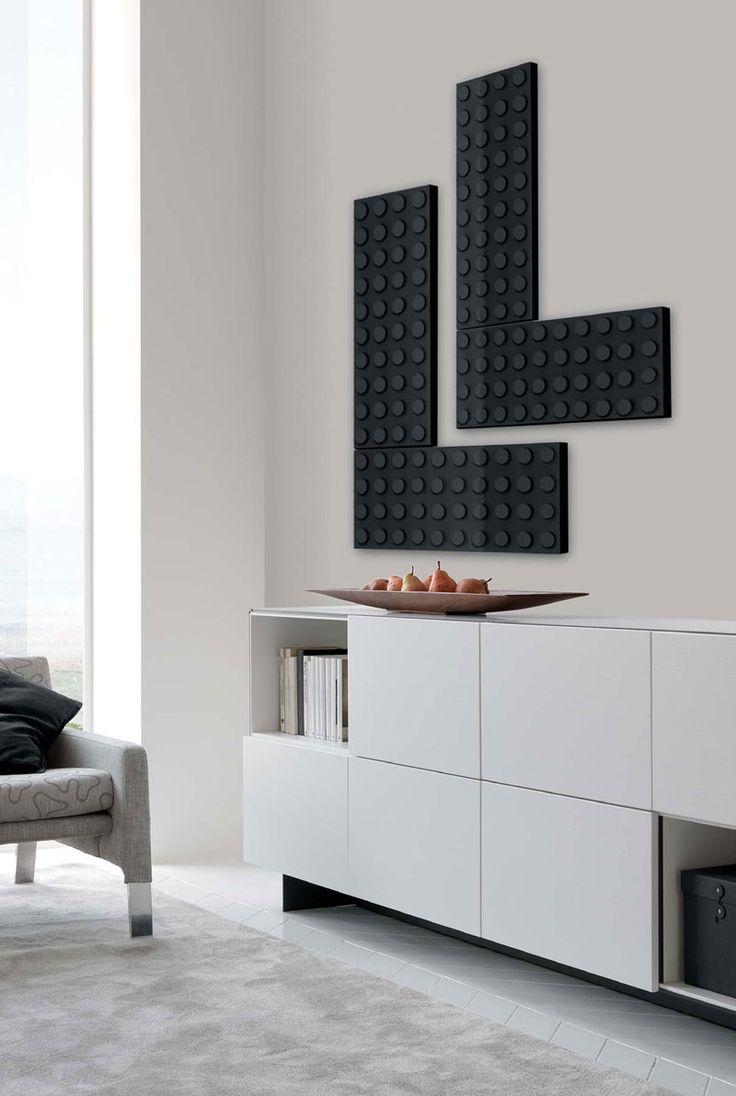 Grzejnik dekoracyjny Kalmar jak klocki lego, więcej na: http://www.foorni.pl/trend/nowoczesny-grzejnik-design-i-funkcjonalnosc