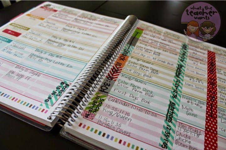 What the Teacher Wants!: We LOVE our Teacher Planners!! {Erin Condren} - Erin Condren Teacher's Lesson Planner Review #eclessonplanner
