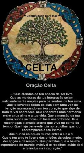 Oracao celta
