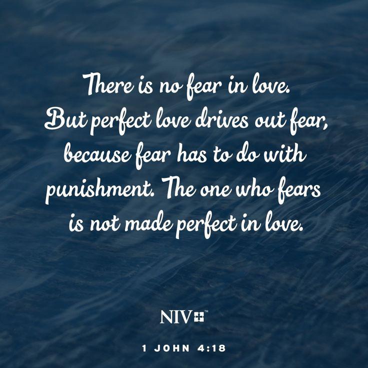 NIV Verse of the Day: 1 John 4:18