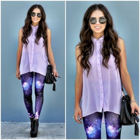 Galaxy Leggings- Out Of This World