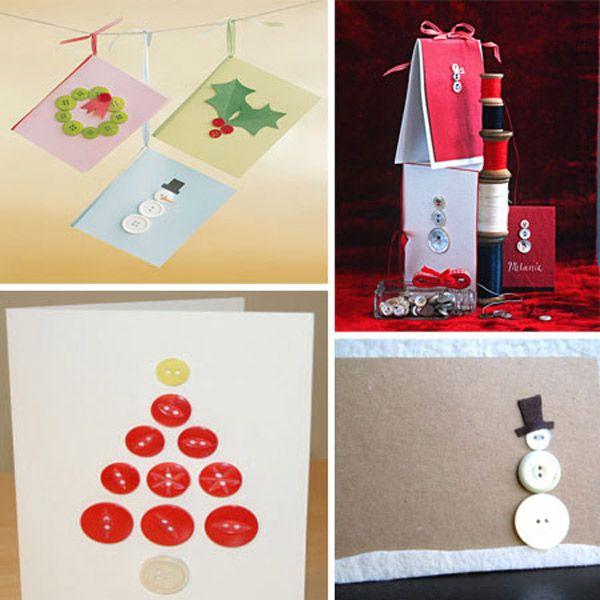 5 tarjetas de navidad hechas a mano tarjetas navidad y - Ideas postales navidad ...
