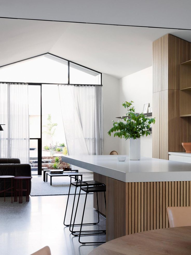 Peek inside this unassuming Port Melbourne home