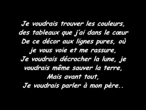 Celine Dion - Parler à mon père (lyrics-paroles)