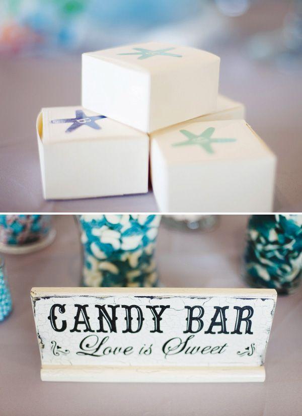 Beachy Blue Starfish Inspired Wedding