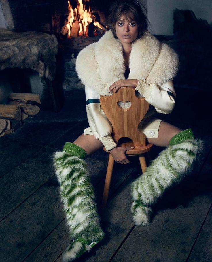 Vogue Japan December 2017 Birgit Kos by Erik Torstensson