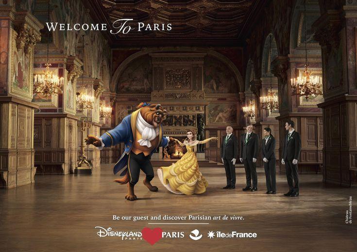 Disneyland París y su publicidad muy creativa @alvarodabril