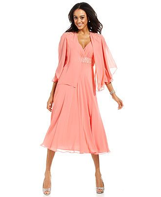 SL Fashions Dress And Jacket Sleeveless Beaded Lace Wedding Dresses Wome