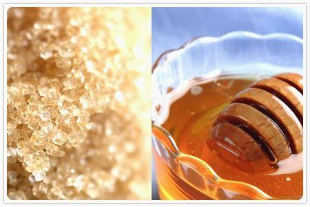 Universe of Beauty: Scrub zucchero e miele