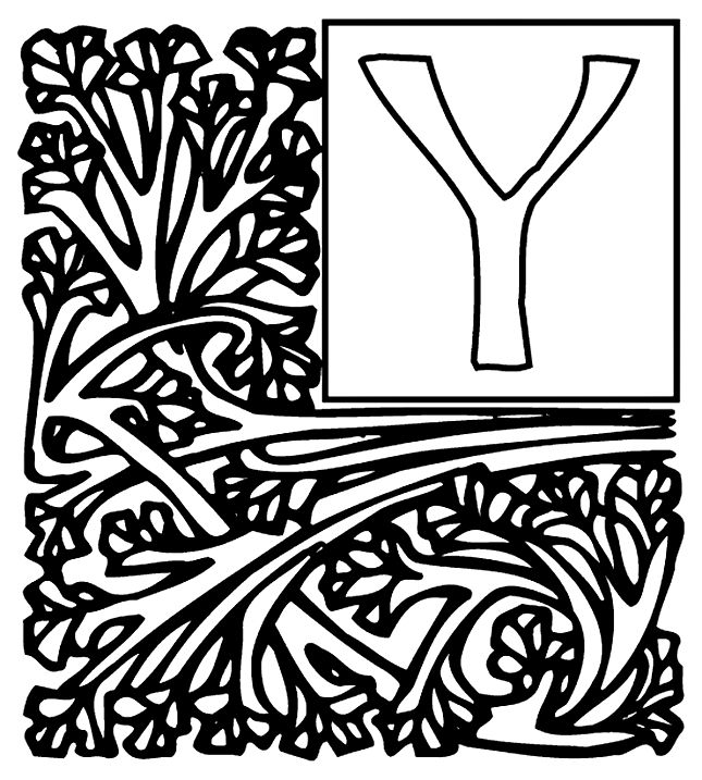 Y Coloring Page Coloring Book Coloring Coloring Pages