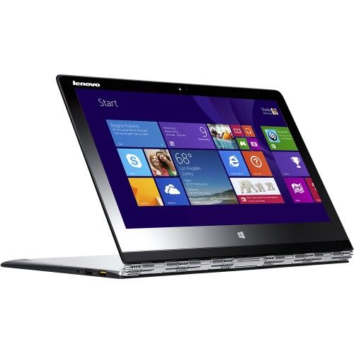 Lenovo Yoga 3 Pro 80HE000DUS Convertible 2-in-1 Laptop: This adaptable, lightweight laptop allows you to work or play on the go. Put it in laptop mode to surf the Web or check e-mail, then flip it over to tent mode when you want to watch your favorite movies or TV shows.