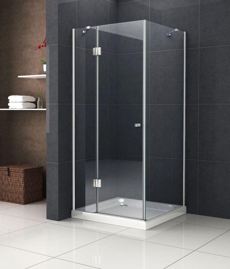 glasdeals hochwertige designer duschkabine recreo 80 x 80 x 190cmglasscheiben aus - Duschtrennwand Glas