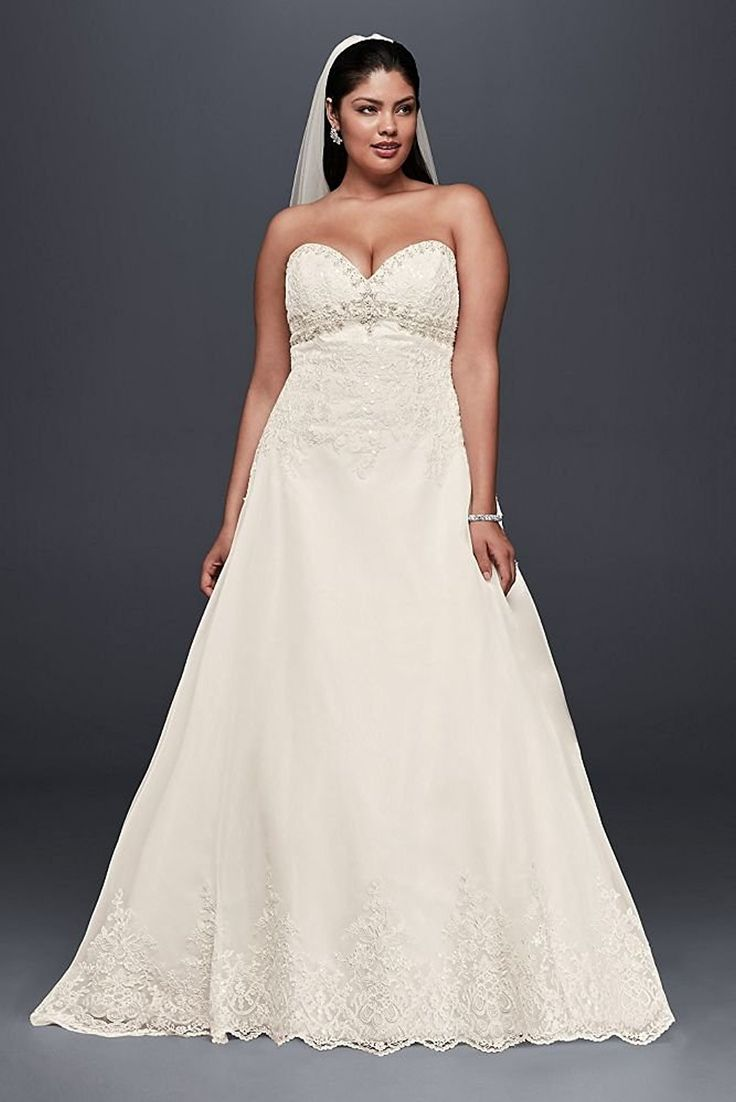 Short wedding dresses 2018 plus size