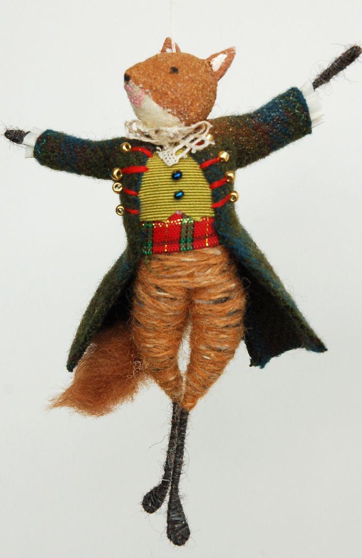 Festive Fox- Halinka's Fairies