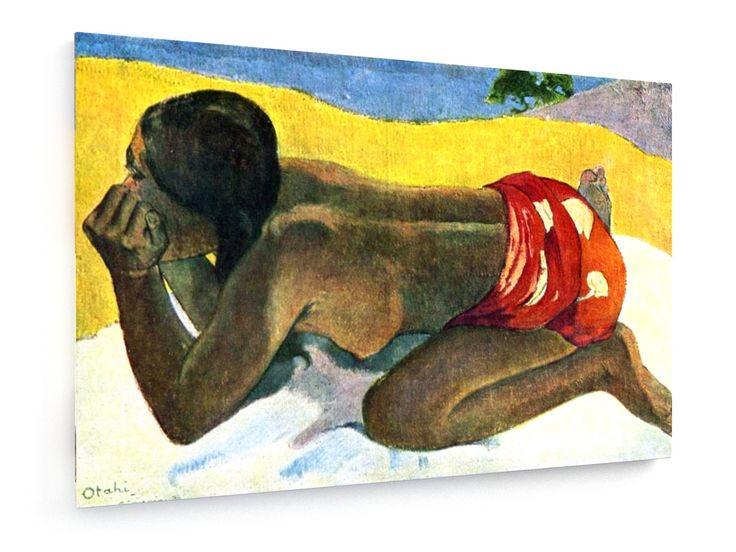Paul Gauguin - Tahiti: Otaki (Alone) - 1893 #Paul #Gauguin #weewado #woman #history #art #Tahiti #Otaki #Alone