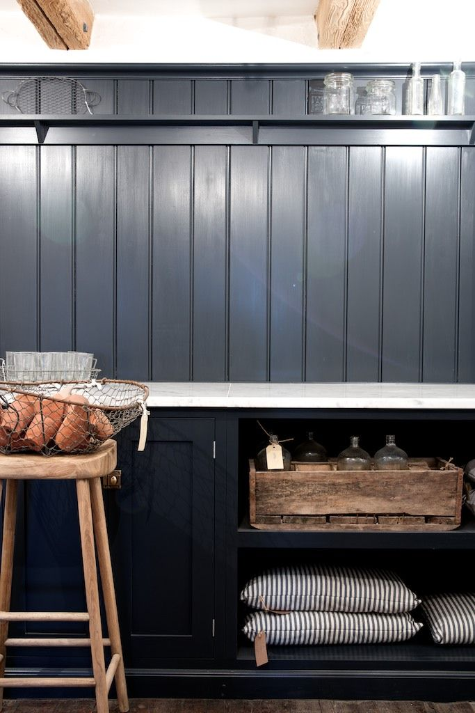 The deVOL Kitchens Scullery - painted in Pantry Blue