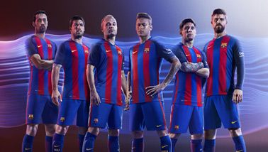 Barcelona Football Kit | Barcelona Kit | Kitbag.com