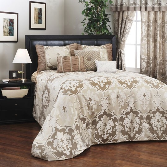 Candice Ivory Bedspread Collection $30.00