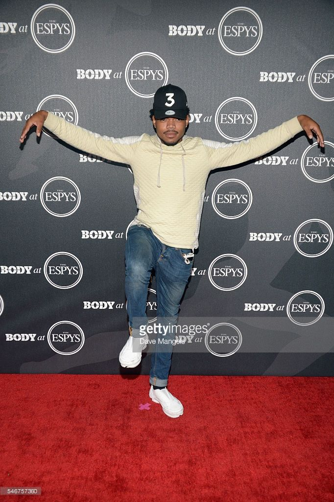 Chance The Rapper attends the BODY At The ESPYs pre-party at Avalon Hollywood on July 12, 2016 in Los Angeles, California.