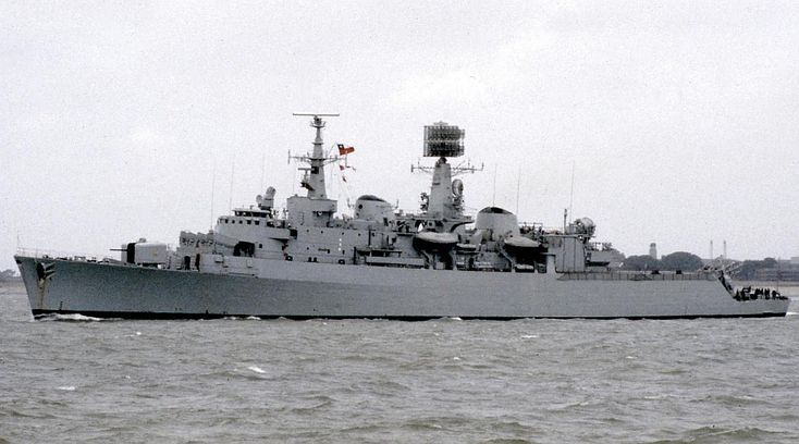 As Almirante Latorre © Chris Howell