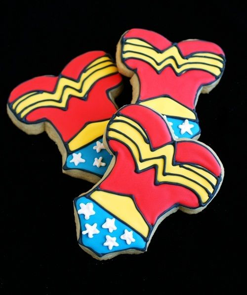 #wonderwoman cookies